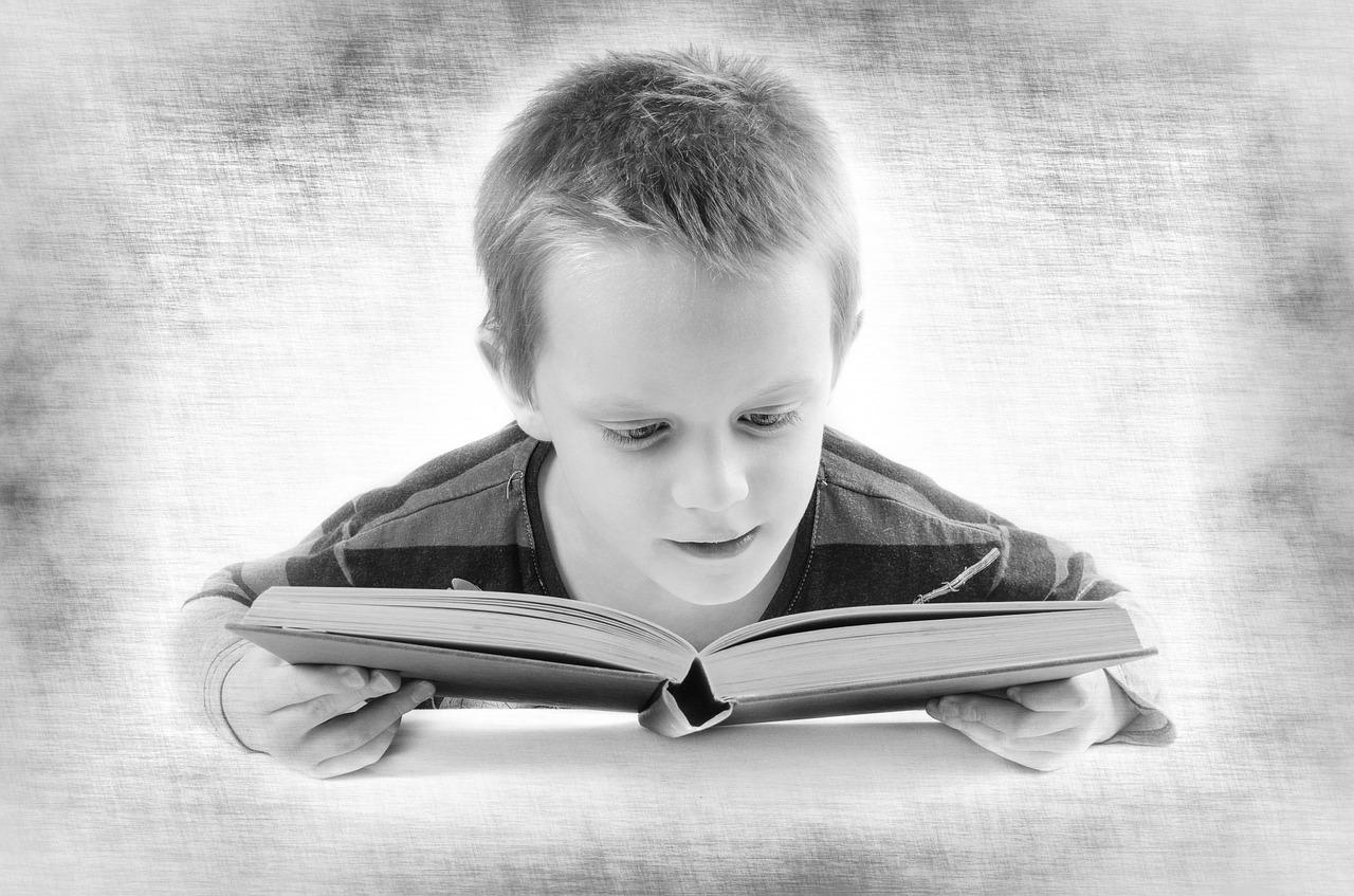 Αγόρι διαβάζει